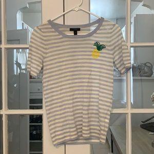 Pineapple striped shirt!